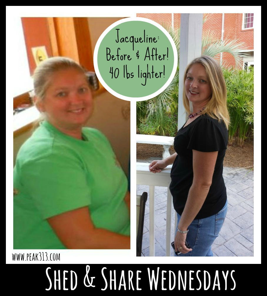 {Shed & Share Wednesdays} Jacqueline E.