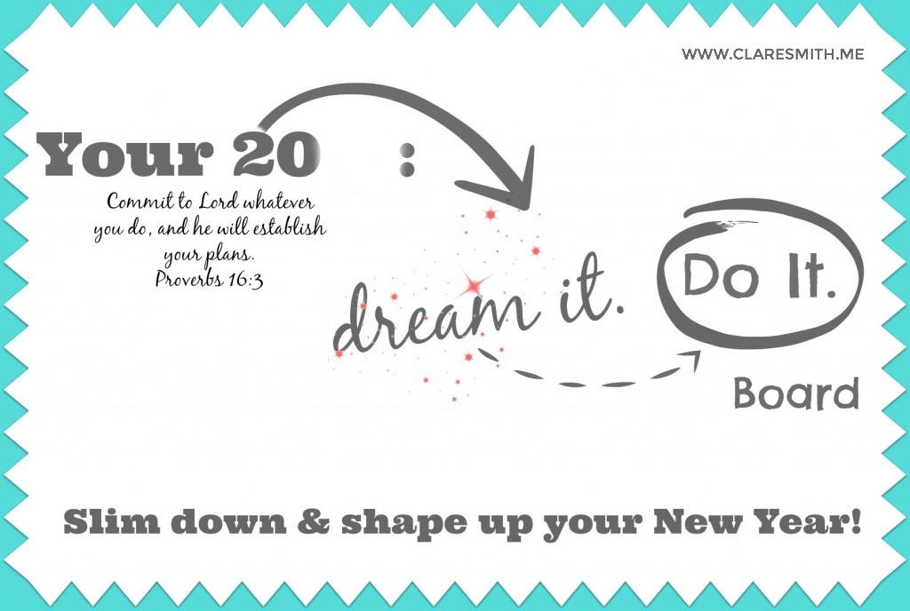 """""""Dream it. Do it."""" Vision Boards (Info)"""