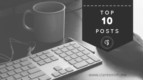Top 10 Posts : claresmith.me