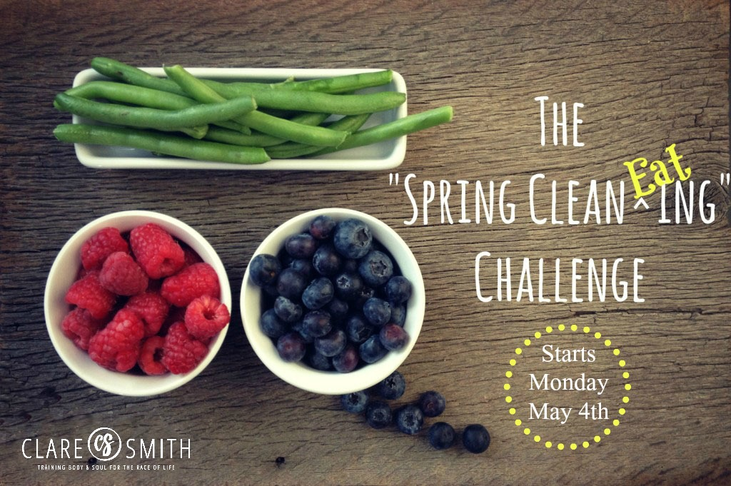 2015 Spring Clean EATing Challenge: Info and Prep