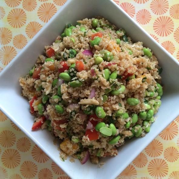 California Quinoa Salad : www.claresmith.me