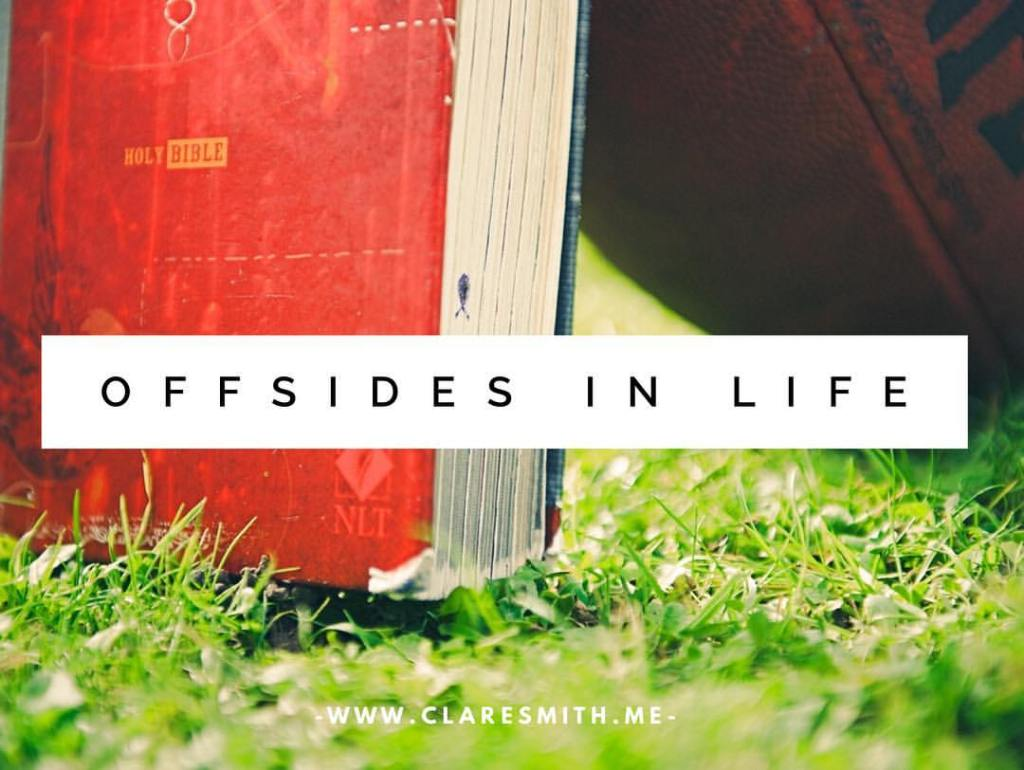 Offsides in Life