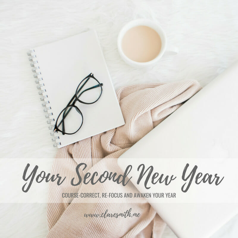 """Introduction of a NEW Series! """"Your Second New Year: Course-Correct, Re-Focus, and Awaken Your Year"""""""
