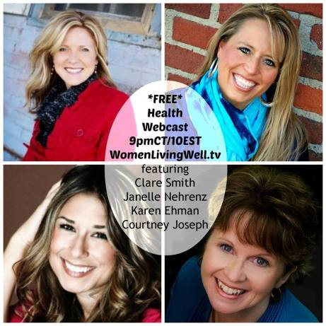 """Women Living Well"" Webcast : Health 