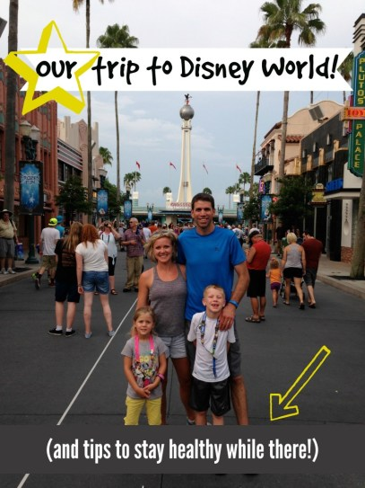 Our trip to Disney World! (and tips to stay healthy while there!) : peak313.com