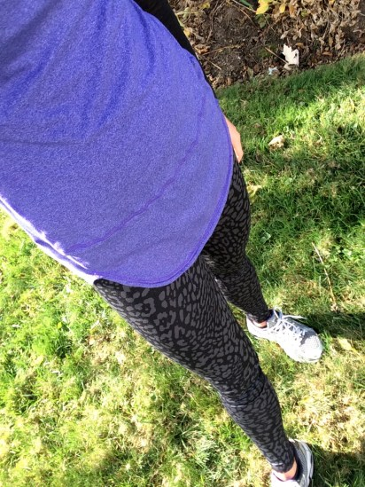 Leopard Print Running Tights : peak313.com