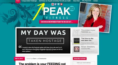febYOUary: an 18 day guide connection YOU with your health : peak313.com