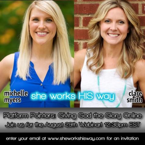 She Works His Way & Peak313: Webcast: Platform Pointers : peak313.com