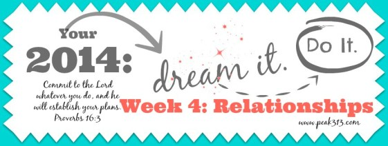 "Your 2014 ""Dream it. Do it."" Vision Board: Week 4 (Relationships) 