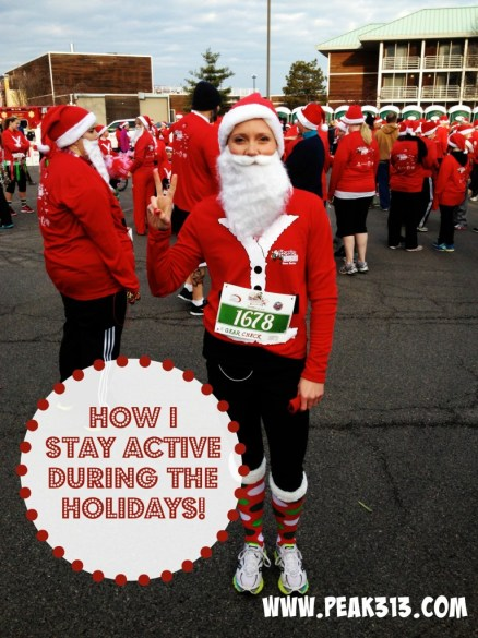 How I Stay Active During the Holidays: peak313.com
