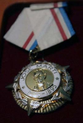 Medalla Jose Marti