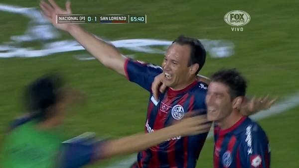 Nacional 0 - San Lorenzo 1