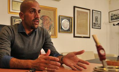 Verón empezó a jugar fuerte en la política del fútbol argentino. (Archivo Clarín)