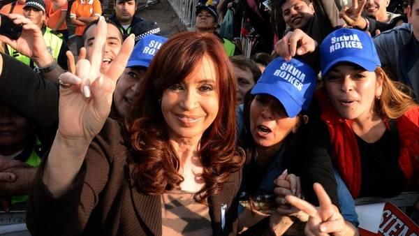 La Presidenta, ayer, en Tucumán.