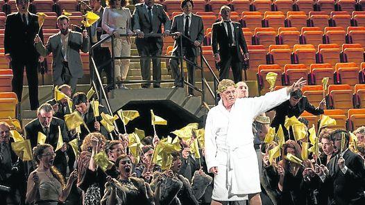 Gran estadioNotable producción de la English National Opera/TEATRO COLÓN