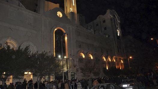 EGIPTO. Atentado en una Iglesia mientra celebraban misa. (EFE)