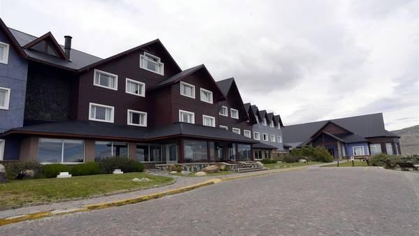 El Hotel de la familia Kirchner Alto Calafate. Foto: OPI Santa Cruz/Francisco Muñoz.