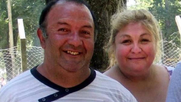 Una vieja foto de Claudia Vera y su esposo Miguel Aloise. (@losandes.com.ar)