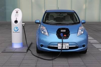 El Nissan Leaf se diseñó desde cero para ser un vehículo eléctrico.