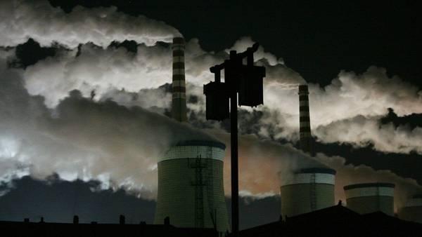 La actividad industrial, gran responsable del calentamiento global. (REUTER)