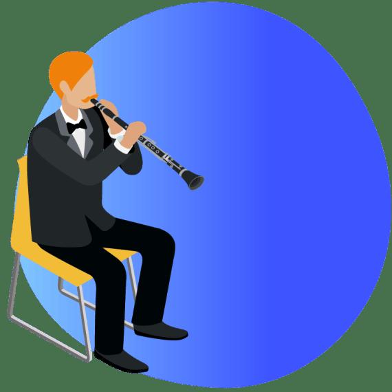 blue program image