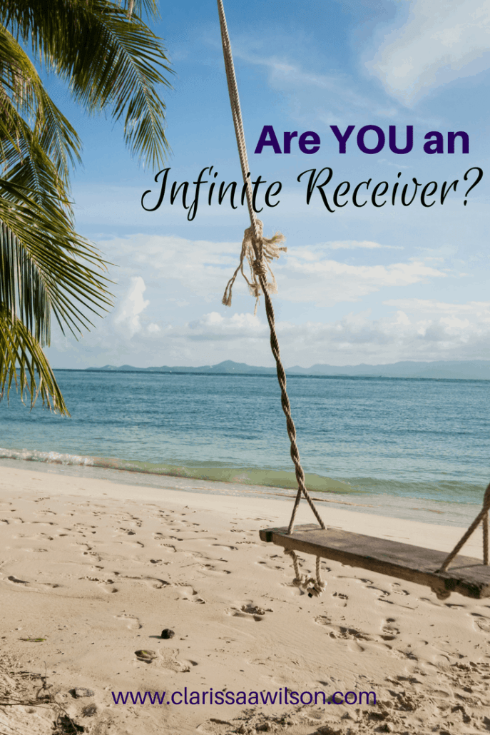 Are you an infinite receiver?