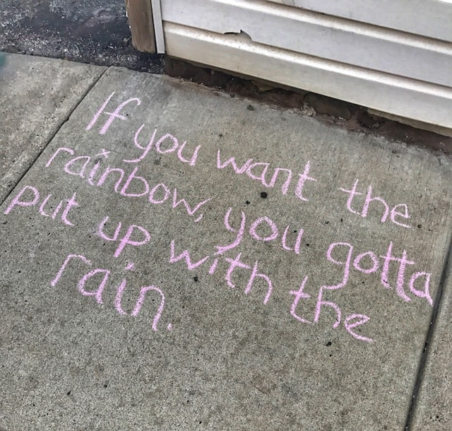 How You Can Inspire People Simply Along A Sidewalk