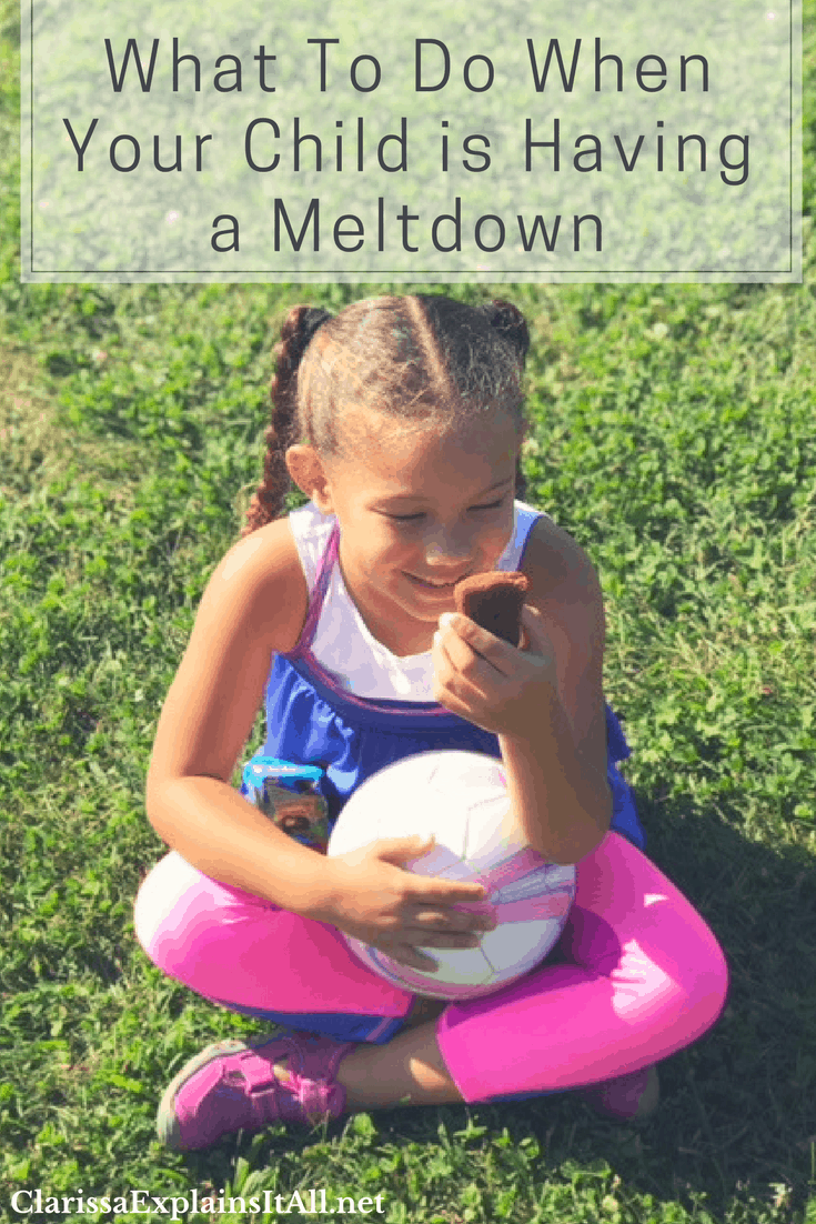 What To Do When Your Child is Having a Meltdown