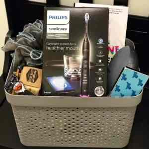 A Unique Gift Basket For The Guy Who is Always Connected