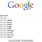 Le mete più gettonate dell'estate 2010 secondo Google