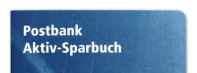 Postbank Sparbuch