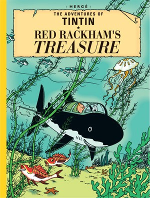 Books to read in English - The Adventures of Tintin - Red Rackham's Treasure