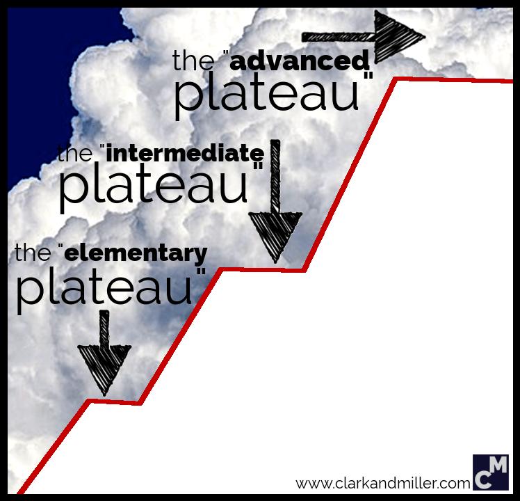 English-learning plateau