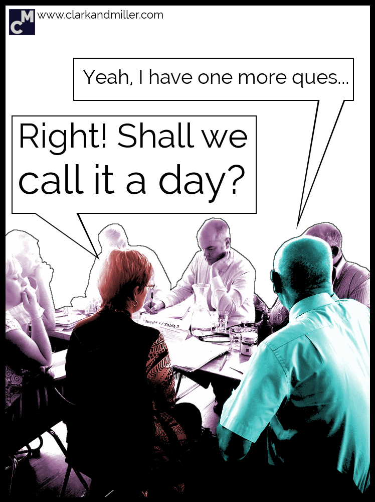 Shall we call it a day?