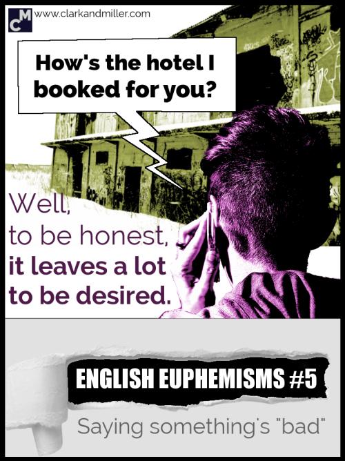 English Euphemisms for bad things