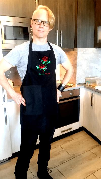 Kitchen vocabulary: Apron