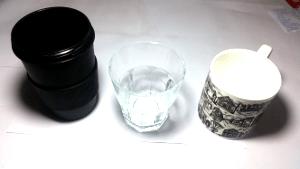 Kitchen vocabulary: Cup / glass / mug