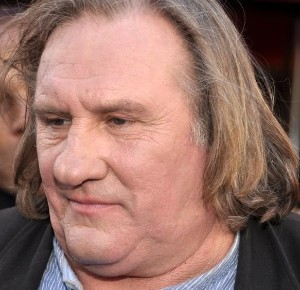 Gerard Depardieu has a bulbous nose