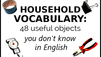 Kitchen Vocabulary: 48 Things in the Kitchen You Don't Know in