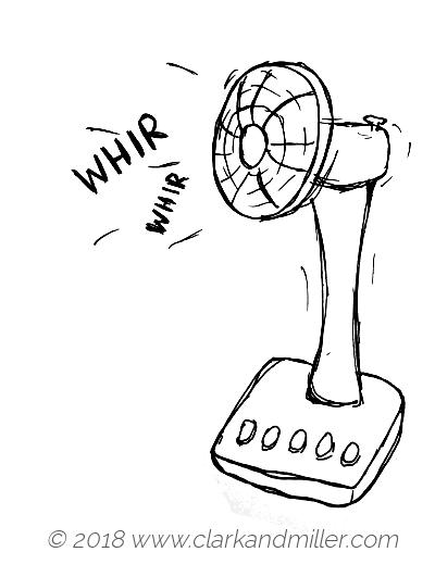 Whir: a table fan