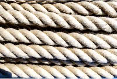 Twisted rope