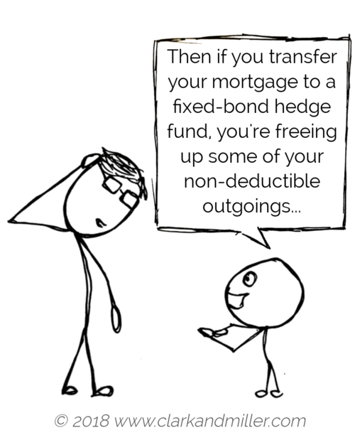 Clever stick figure child talking