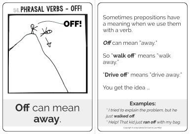 off - phrasal verbs