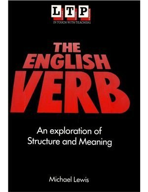 Michael Lewis: The English Verb - book cover