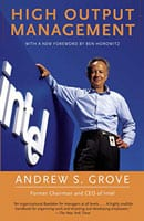 Cover of Andy Grove's High Output Management