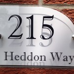 MODERN HOUSE SIGN / PLAQUE