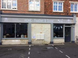 Vinyl applied to Painted Shop Front