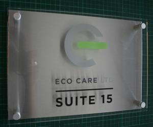 Acrylic + ACM Backplate