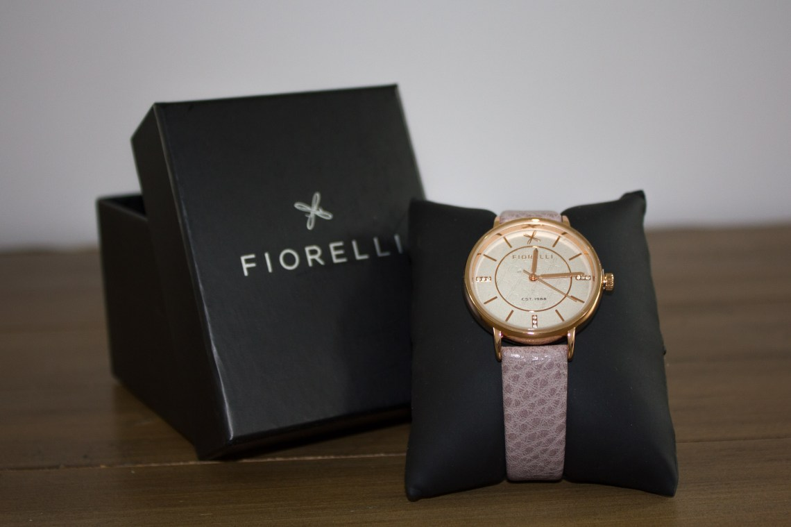 Fiorelli watch giveaway