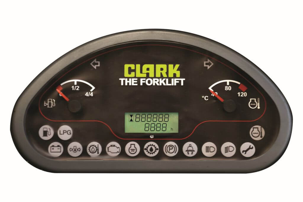 Clark GTS20-33 Forklift Display